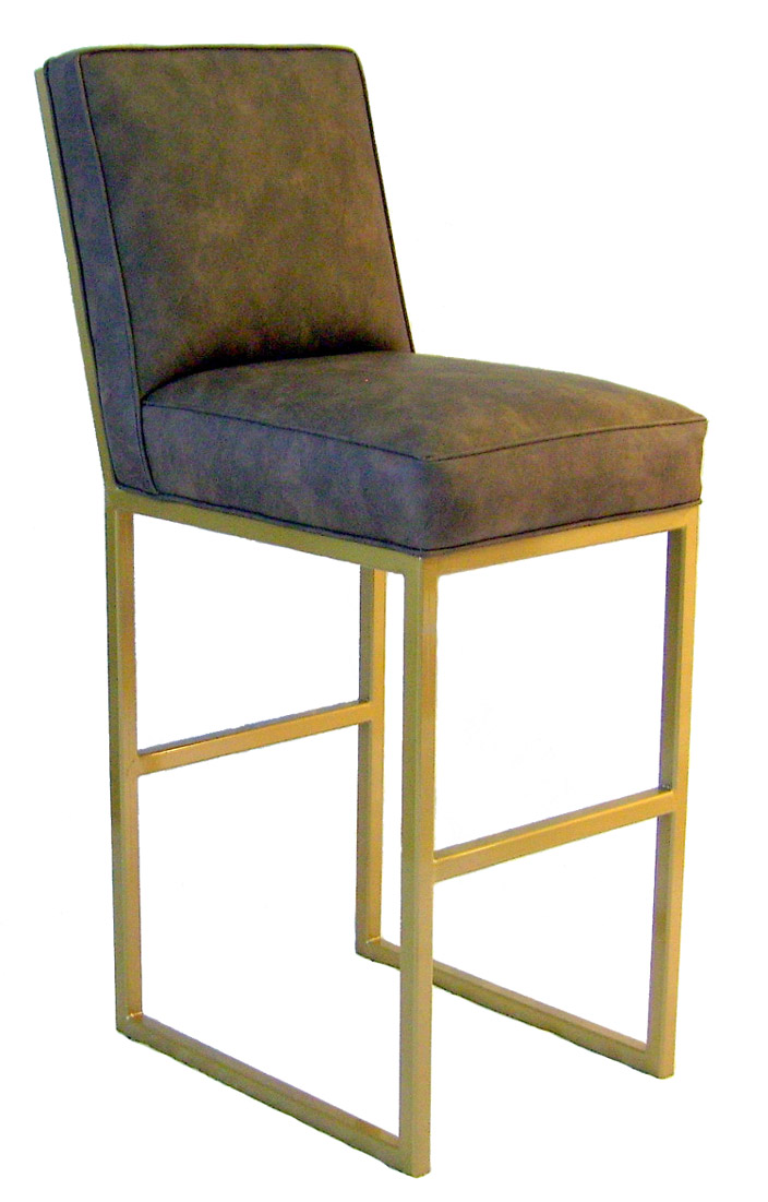 sanded and treated with a clear powder coat The inviting design will rouse yourself and guests to take a seat This barstool is mercial grade